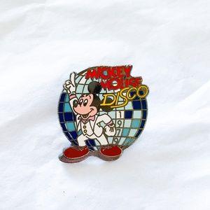Disney Millennium Mickey Mouse Disco 1979 Pin